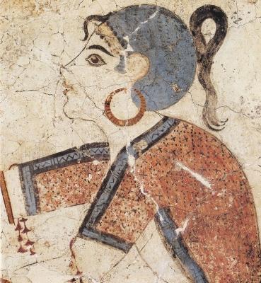 La couleur dans l'iconographie minoenne et mycénienne: formes artistiques et réalité visuelle